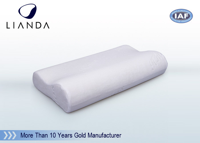 50 Density Molded Memory Foam Pillow Removable Cover 50x30x10 cm