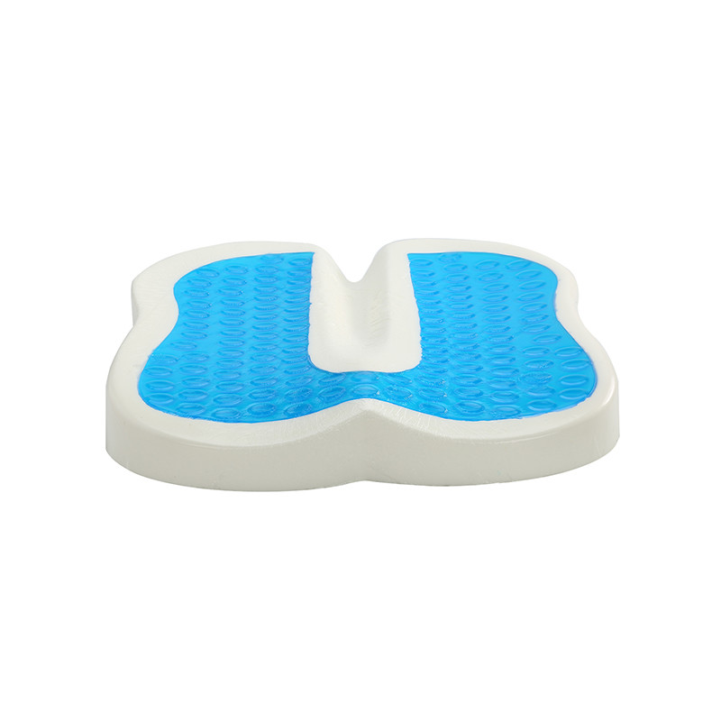 Pain Relief Memory Foam Gel Seat Cushion with Cooling Gel Used for Office and Car